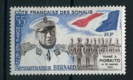 COTE  DES  SOMALIS (  AERIEN ) : Y&T  N°  27  TIMBRE  NEUF  SANS  TRACE  DE  CHARNIERE , A  VOIR . - Costa Francese Dei Somali (1894-1967)