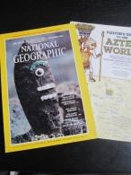 NATIONAL GEOGRAPHIC Vol. 158, N°6 1980 :  The Aztecs (Avec Carte Aztec World) - Géographie