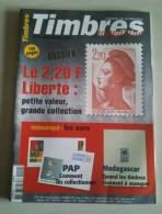 TIMBRES MAGAZINE 2003 - Novembre N° 40 (Liberté, Madagascar, PAP, ...) - Magazines