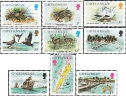 Cayes Of Belize 1-9 (kompl.Ausg.) Postfrisch 1984 Tiere Und Landschaften - Belize (1973-...)