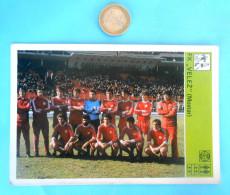 FK VELEZ Mostar , Bosnia - Yugoslav Vintage Card Svijet Sporta * LARGE SIZE * Football Club Soccer Fussball Calcio Foot - Trading Cards