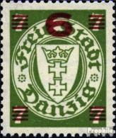Danzig 240 Postfrisch 1934 Aushilfsausgabe - Danzig