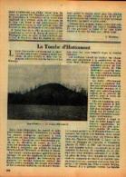 Dans « Bulletin Du Touring Club De Belgique » - 15/06/1938 Article : « La Tombe D'HOTTOMONT» - Bücher, Zeitschriften, Comics