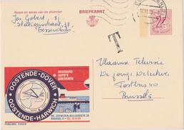 PUBLIBEL -  OOSTENDE - DOVER / OOSTENDE - HARWICH - N° 2363 N - Stamped Stationery