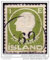 Iceland 1911, Jon Sigurdsson, 1e, Used - 1873-1918 Dänische Abhängigkeit