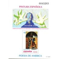 ESPO32-LFTPO032THC.Exposicion Juvenil.Prueba Oficial Homenaje Al Pintor SALVADOR DALÍ 1994.(Ed  PO 32) - Hojas Conmemorativas
