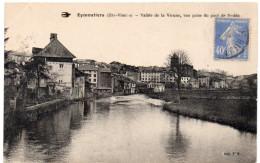 EYMOUTIERS ( Haute Vienne ) -  Vallée De La Vienne -  Vue Prise Du Pont De Nedde -  1930 - Eymoutiers