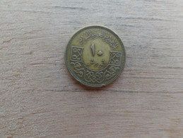 Syrie  10  Piastres  1965  Km 95 - Syrie