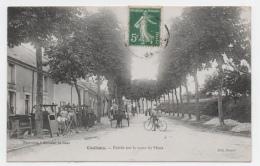 72 SARTHE - COULANS Entrée Par La Route Du Mans - France