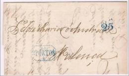 Portugal, 1843, Porto-Valença - Portugal