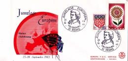 MARNE / 1965 JUMELAGE EUROPEEN REIMS - SALZBOURG - FDC