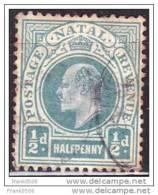 Natal 1902, Edward VII, 1/2p, Used - Afrique Du Sud (...-1961)