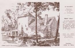 Cher :  REZAY , Le  Bas  Berry  , Le  Moulin  (  Illustrateur  ) - France