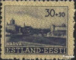 Estland (Dt.Bes.2.WK.) 6 Postfrisch 1941 Gebäude - Besetzungen 1938-45