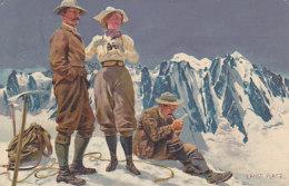 Gipfelrast, Sign. Ernst Platz - 1907    (60718) - Sin Clasificación