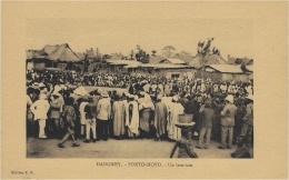 DAHOMEY - Porto Novo - Un Tam-Tam - Ed. E. R. - Dahomey
