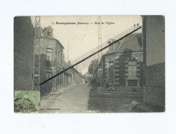 CPA   - Beauquesne  -  Rue De L'église - Beauquesne