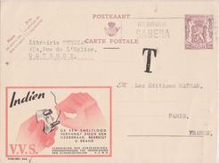 PUBLIBEL V.V.S - INDIEN GE EEN - N° 846 - Enteros Postales