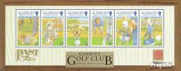 GB - Alderney Block10 (kompl.Ausg.) Postfrisch 2001 Golf - Alderney