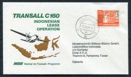 1981 Indonesia MBB Flight Cover - Indonesia