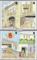 Gibraltar 590-593 Paare (kompl.Ausg.) Postfrisch 1990 Post - Gibraltar