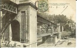 CPA  TAMARIS LES FORGES, Le Pont Suspendu  12944 - Otros Municipios