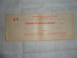 ANCIEN CARNET D'ORDONNANCES / FMS DU BRABANT - Attrezzature Mediche E Dentistiche