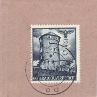 MiNr.66 Briefstück Deutsches Reich Generalgouvernement - Bezetting 1938-45
