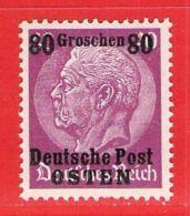 MiNr. 11 Xx  Deutschland Besetzungsausgaben II. Weltkrieg Generalgouvernement - Besetzungen 1938-45