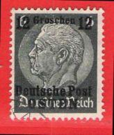 MiNr. 3 O  Deutschland Besetzungsausgaben II. Weltkrieg Generalgouvernement - Besetzungen 1938-45