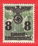 MiNr. 20 Xx  Deutschland Besetzungsausgaben II. Weltkrieg Generalgouvernement - Besetzungen 1938-45