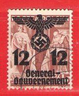 MiNr. 33 O  Deutschland Besetzungsausgaben II. Weltkrieg Generalgouvernement - Occupazione 1938 – 45