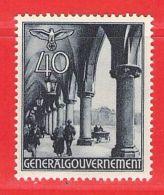 MiNr. 47 Xx Deutschland Besetzungsausgaben II. Weltkrieg Generalgouvernement - Besetzungen 1938-45