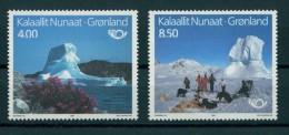 GREENLAND, TOURISM 1991 MNH SET Postfrisch, Sans Charnières ** - Nuovi