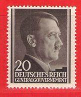 MiNr. 77 Xx Deutschland Besetzungsausgaben II. Weltkrieg Generalgouvernement - Bezetting 1938-45