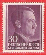 MiNr. 79 Xx Deutschland Besetzungsausgaben II. Weltkrieg Generalgouvernement - Besetzungen 1938-45