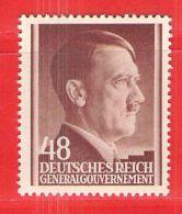 MiNr. 82 Xx Deutschland Besetzungsausgaben II. Weltkrieg Generalgouvernement - Bezetting 1938-45