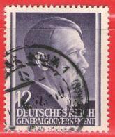 MiNr.75 O Deutschland Besetzungsausgaben II. Weltkrieg Generalgouvernement - Besetzungen 1938-45