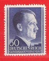 MiNr.83 Xx Deutschland Besetzungsausgaben II. Weltkrieg Generalgouvernement - Bezetting 1938-45