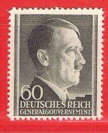 MiNr.84 Xx Deutschland Besetzungsausgaben II. Weltkrieg Generalgouvernement - Bezetting 1938-45