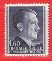 MiNr.88 Xx Deutschland Besetzungsausgaben II. Weltkrieg Generalgouvernement - Bezetting 1938-45