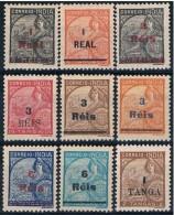 India, 1942/6, # 367/75, MH - Portuguese India