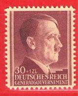 MiNr.89 Xx Deutschland Besetzungsausgaben II. Weltkrieg Generalgouvernement - Bezetting 1938-45