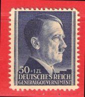 MiNr.90 Xx Deutschland Besetzungsausgaben II. Weltkrieg Generalgouvernement - Bezetting 1938-45