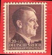 MiNr.91 Xx Deutschland Besetzungsausgaben II. Weltkrieg Generalgouvernement - Bezetting 1938-45