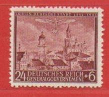 MiNr.93 Xx Deutschland Besetzungsausgaben II. Weltkrieg Generalgouvernement - Bezetting 1938-45