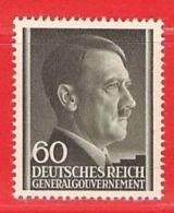 MiNr.111 Xx Deutschland Besetzungsausgaben II. Weltkrieg Generalgouvernement - Besetzungen 1938-45