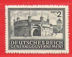 MiNr.113 Xx Deutschland Besetzungsausgaben II. Weltkrieg Generalgouvernement - Besetzungen 1938-45