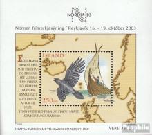 Island Block32 (kompl.Ausg.) Postfrisch 2003 Briefmarkenausstellung - 1944-... Republik