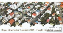 Island Mi.-Nr.: Block38 (kompl.Ausg.) Postfrisch 2005 Philatelie - 1944-... Republik